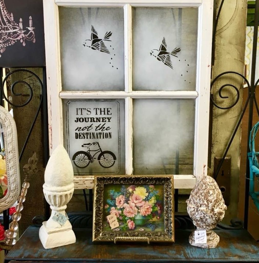 Garden Decor Previously Sold at Picket Fence Gals in Lindstrom