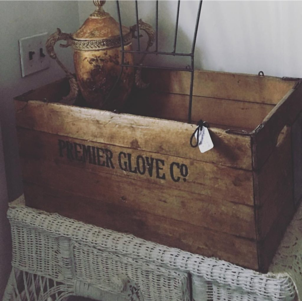 Wooden Crate Previously Sold at Picket Fence Gals in Lindstrom Minnesota